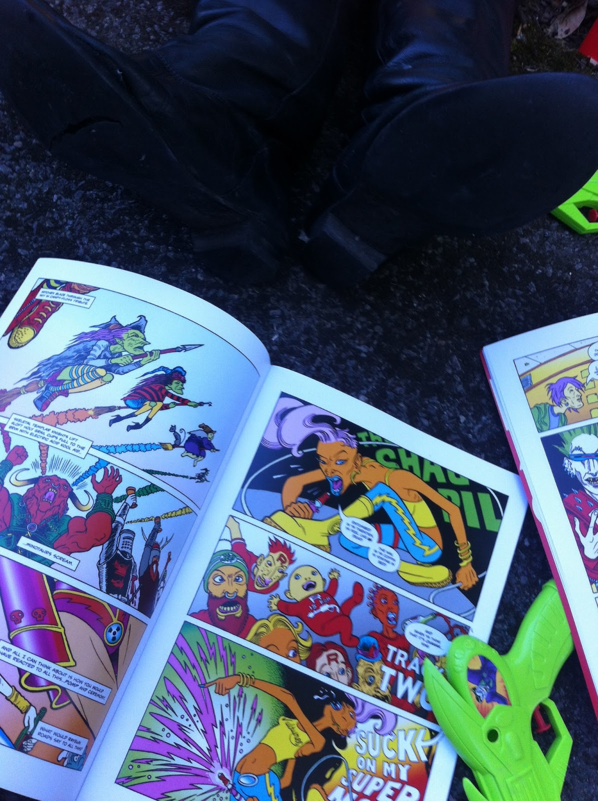 Raygun Roads project gets set for full launch at Lakes International Comic Art Festival