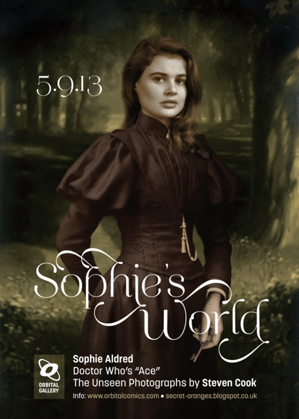 Sophie's World flyer by Steven Cook