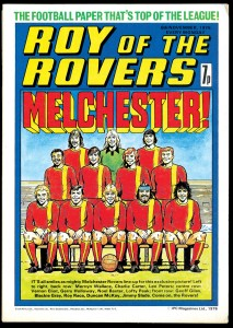 Roy of the Rovers cover - 6th November 1976