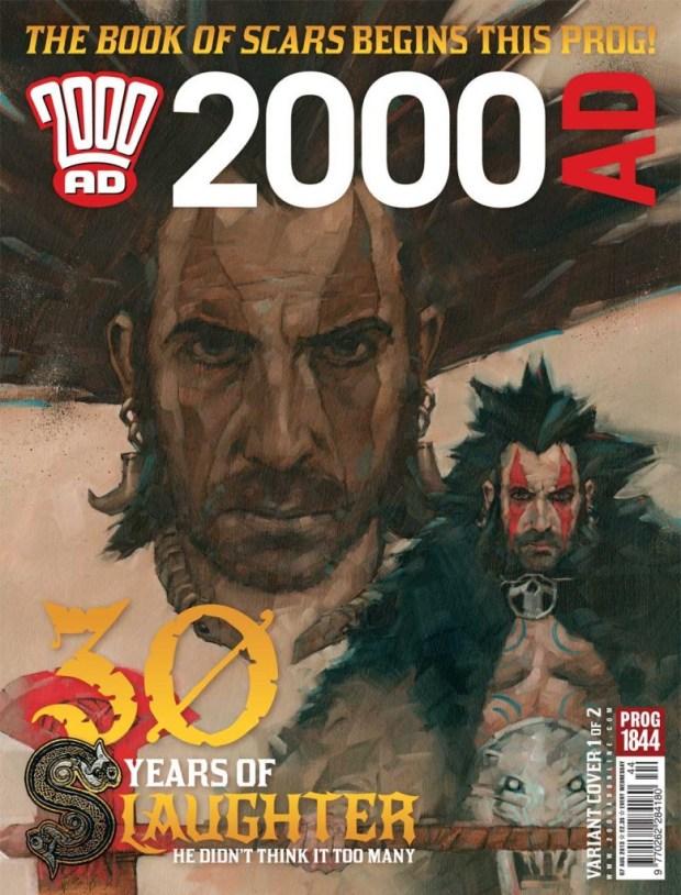 2000AD Prog 1844 variant Cover 1