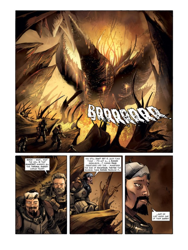 Lost Planet First Colony Page 1