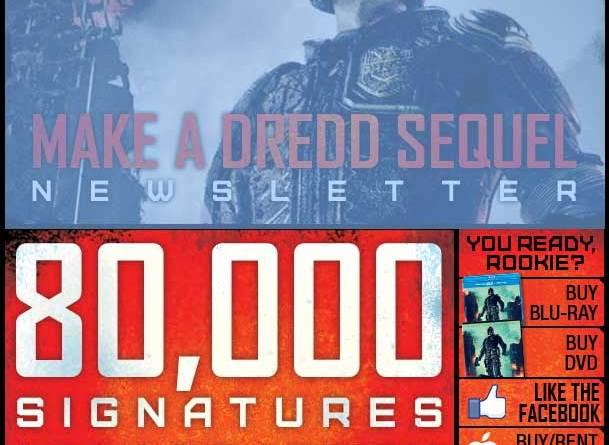 Make a Dredd Sequel Campaign
