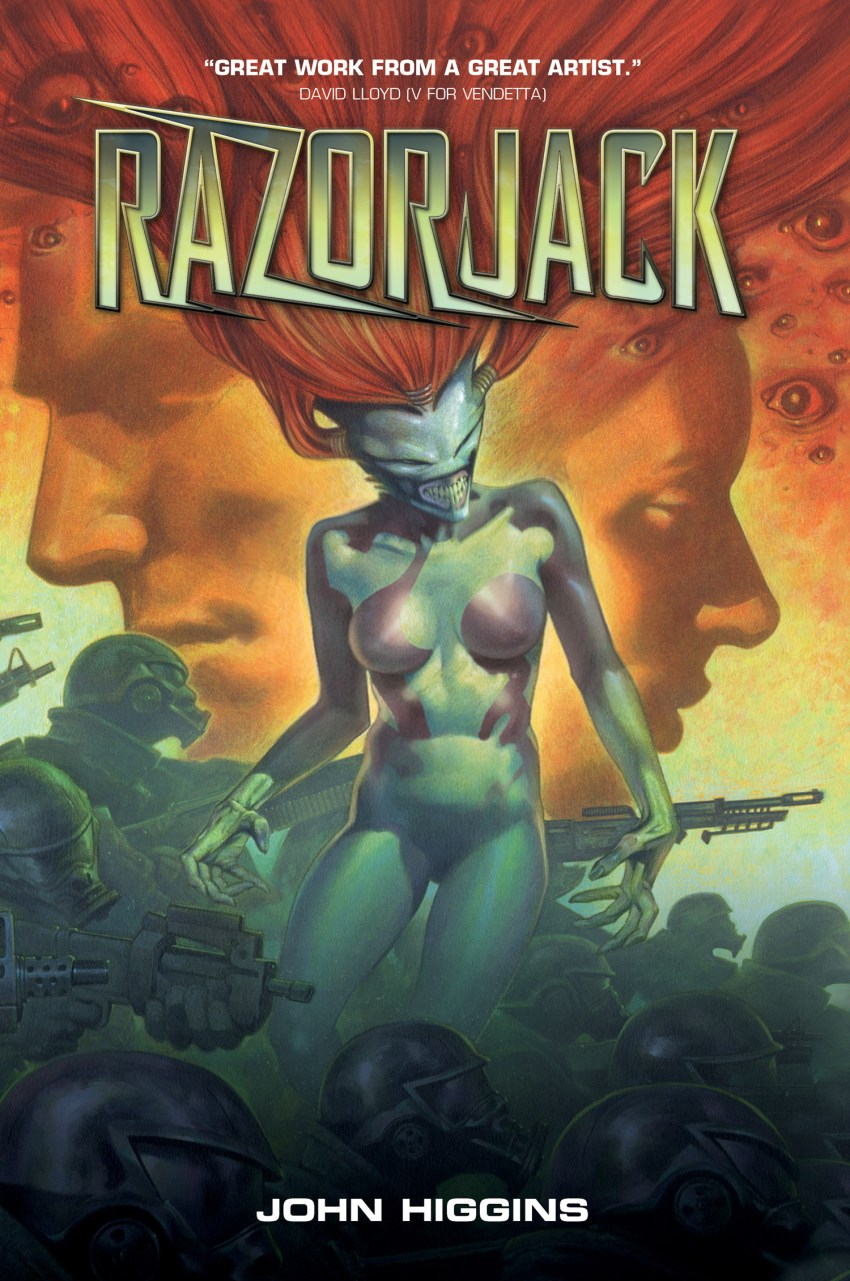 Razorjack Cover - Titan Comics