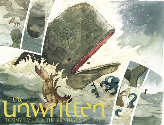 The Unwritten: Tommy Taylor and the Ship that Sunk Twice