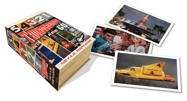 Thunderbirds FAB Postcards Collection