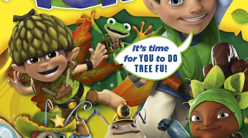 Aimed at 3-5 year olds, Tree Fu Tom magazine will complement the Early Years Curriculum, focusing on physical development.