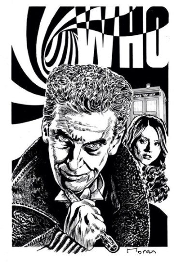 The Twelfth Doctor by Rob Moran