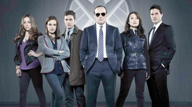 The 2013 cast of Marvel's Agents of SHIELD