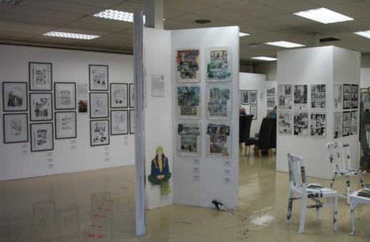 Bryan Talbot Exhibition, Lakes International Comic Art Festival 2013