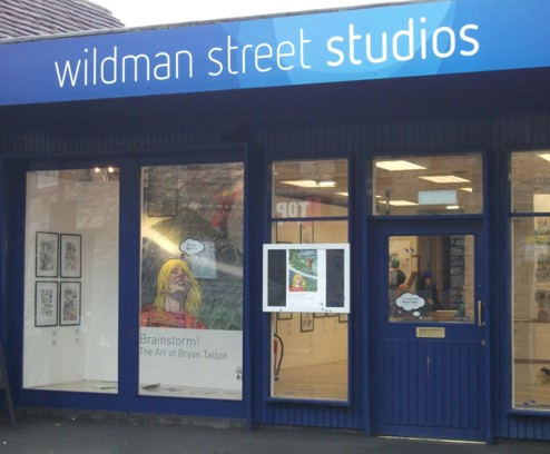Wildman Street Studios, Lakes International Comic Art Festival 2013