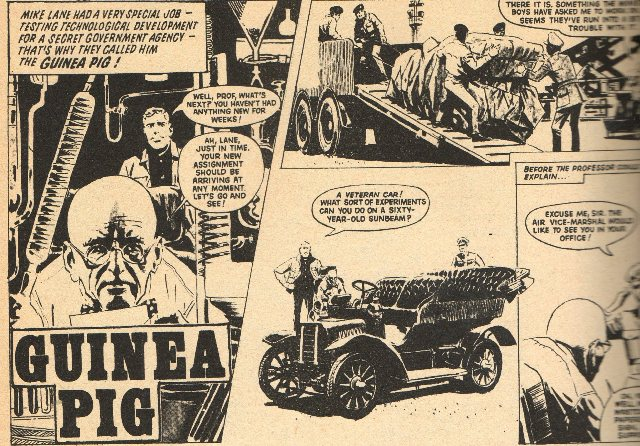 An example of 'The Guinea Pig' strip sometimes written by Bob Batholomew, who died earlier this month.