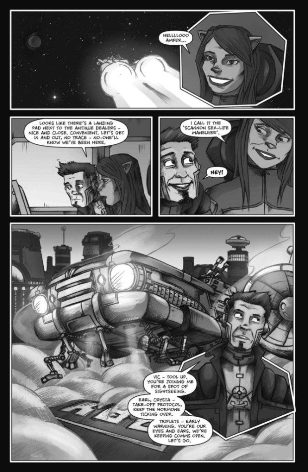 Lou Scannon Issue 6 Sample Page
