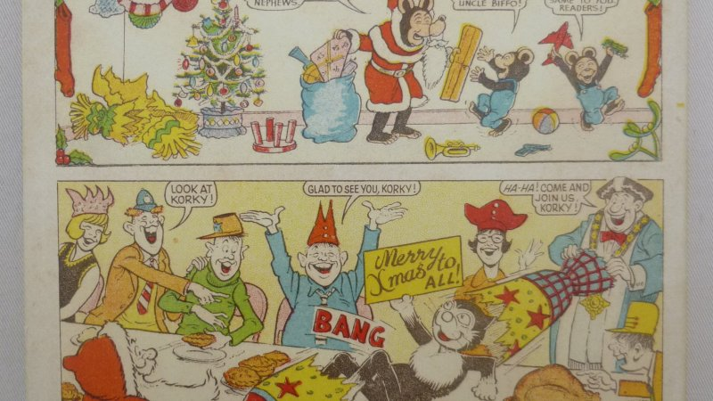 Celebrate Christmas Past with special Beano and Dandy Covers Book