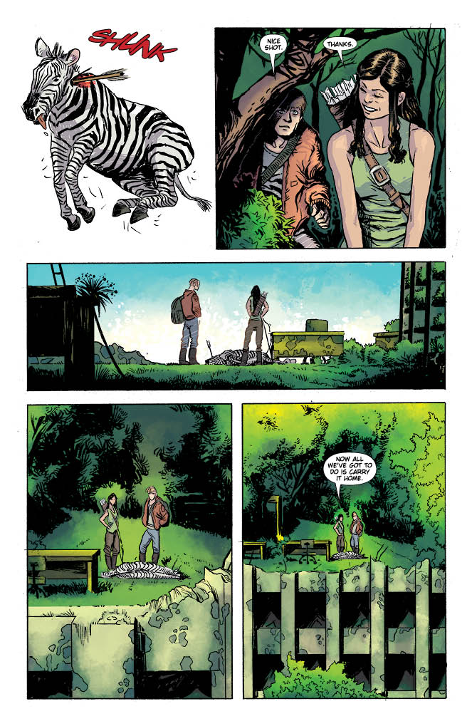 Hinterkind #1 Preview Page 3