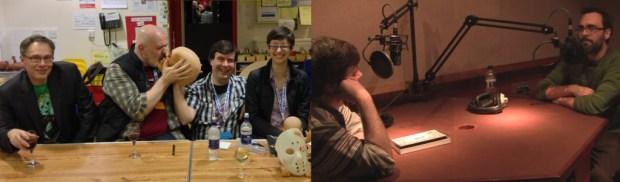 David Hine, I.N.J. Culbard, Alex Fitch and Hannah Berry at the Lakes International Comic Art Festival / Alex Fitch interviews Gareth Brookes
