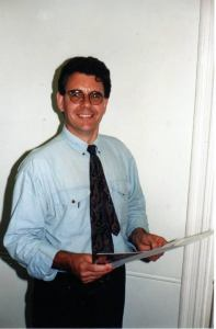 Marvel UK Editor in Chief Paul Neary in 1994. Photo: Tim Quinn