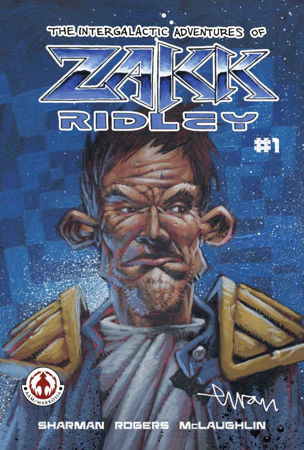 limited edition convention exclusive copy of The Intergalactic Adventures of Zakk Ridley #1