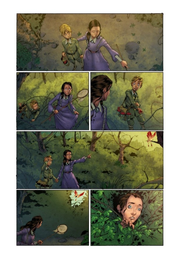 Butterfly Gate Page 6