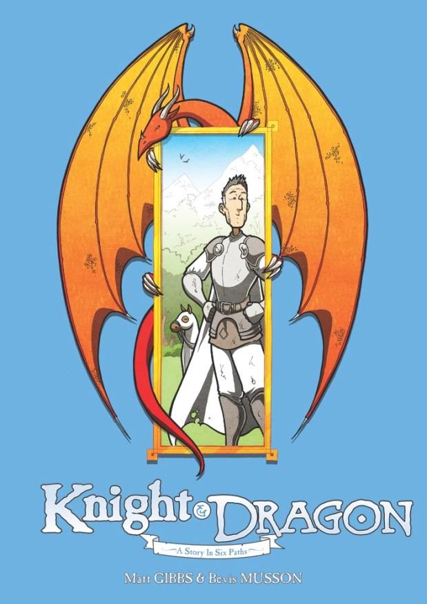 Knight & Dragon Cover