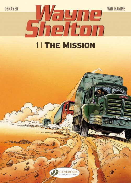 Wayne Shelton 1 Cover