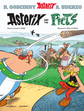 Asterix and the Picts - English Cover