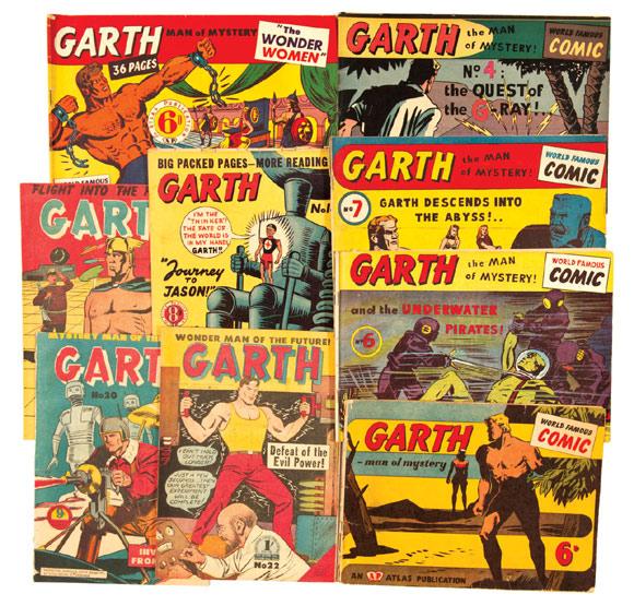 The rare Australian Garth comic.