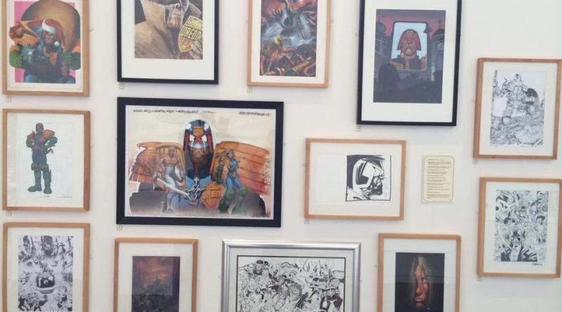 Judge Dredd Exhibition, Scunthorpe