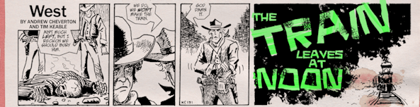 The Newspaper Strip Collection Of Oscar Charles Drayton: West