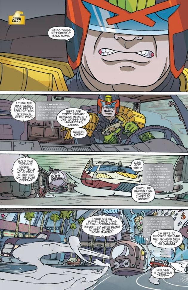 Judge Dredd Mega-City Two Sample 02