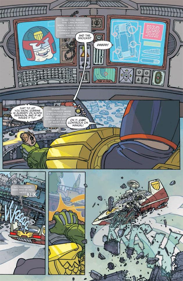 Judge Dredd Mega-City Two Sample 05