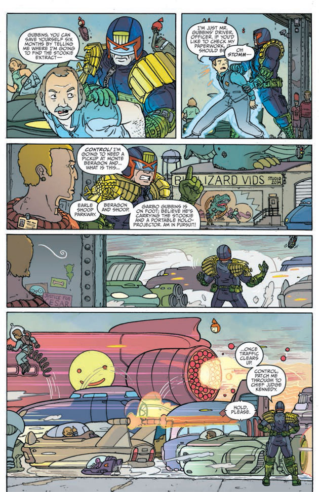 Judge Dredd Mega-City Two Sample 07