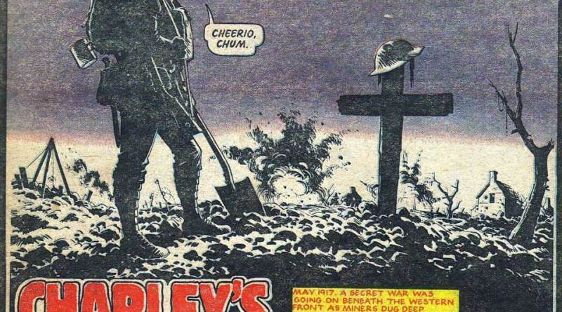 A sombre cover to Battle, published in October 1981