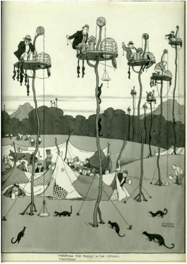 Trapping the Polecat by Heath Robinson