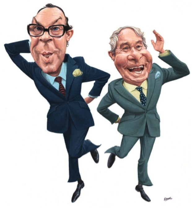Morecambe and Wise by Jonathan Cusick