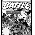 """A cracking """"Charley's War"""" cover for Battle by Joe Colquhoun. Art © Egmont"""
