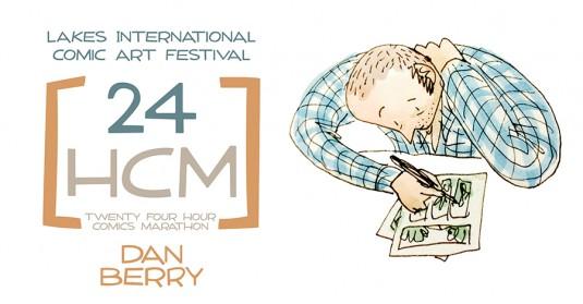 LICAF 2014 24 Hour Marathon - Dan Berry