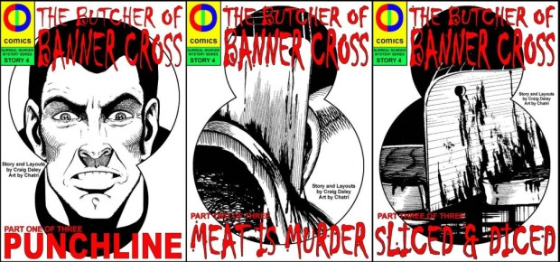 Butcher of Banner Cross Covers