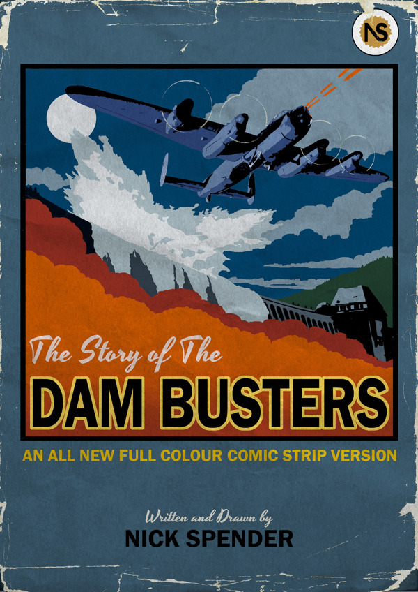The Story of the Dambusters Cover by Nicholas Spender