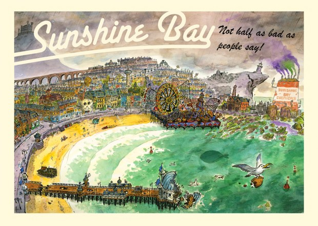 Sunshine Bay by Tom Plant