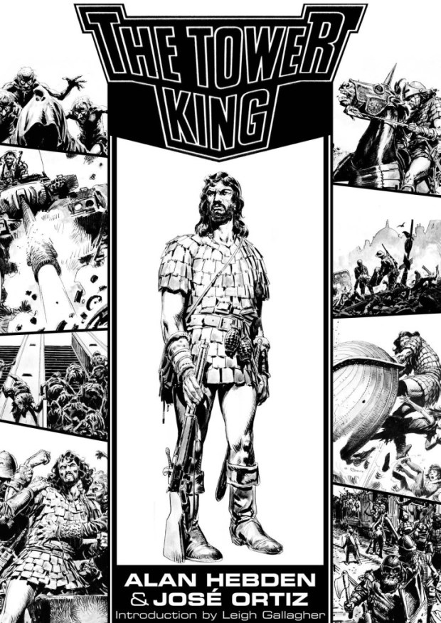 The Tower King by Alan Hebden and Jose Ortiz