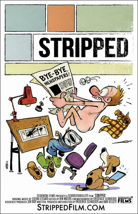 """Stripped"" Film Poster by Bill Watterson"