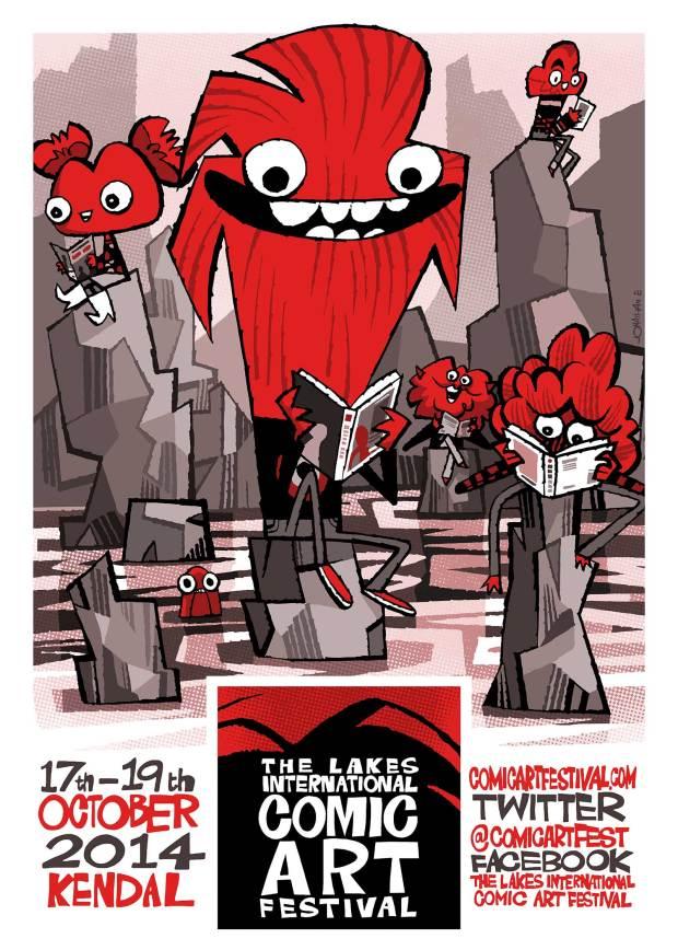Lakes International Comic Art Festival Poster 2014
