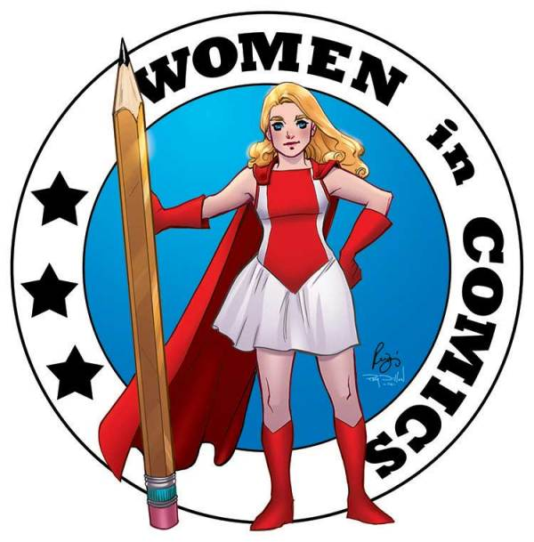 Women in Comics - characters and creators - are celebrated in May's Diamond Previews.