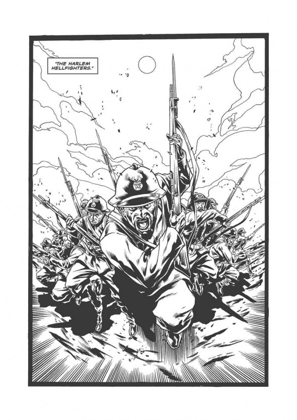 Harlem Hellfighters -  In the Tenches 3