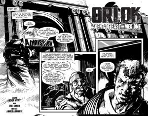 2000AD Scii-Fi Special 2014 - Orlok the Assassin