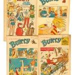 Bunty Comics from 1968