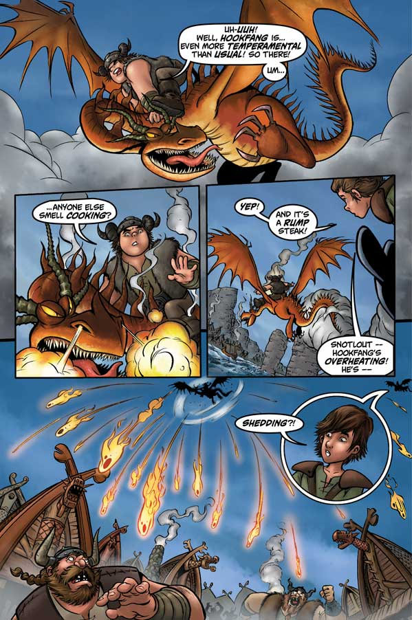 Dragons: Riders of Berk Volume 1 - Sample Page 3