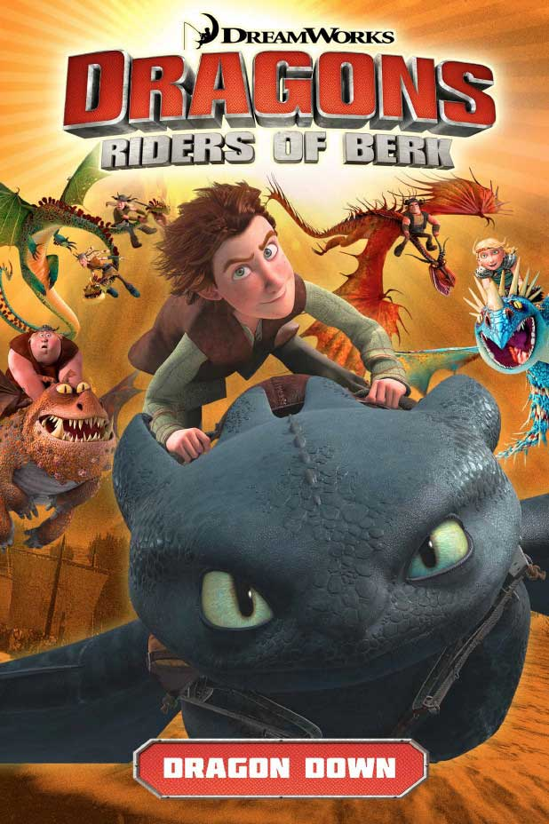 Dragons: Riders of Berk Volume 1 Cover