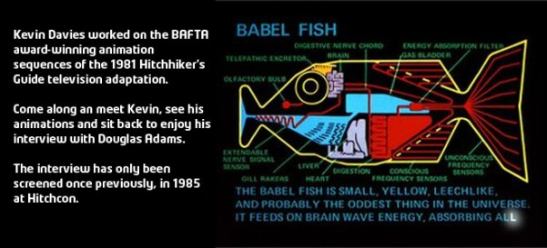 The Babel Fish from The Hitch Hiker's Guide ot the Galaxy, as realized by Kevin Davies for the BBC TV adaptation of the story.