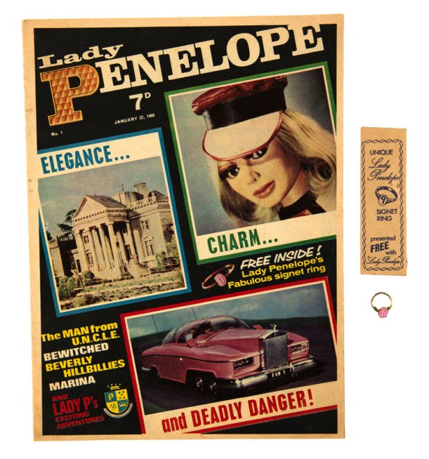 Lady Penelope Number 1 - with rare free gift